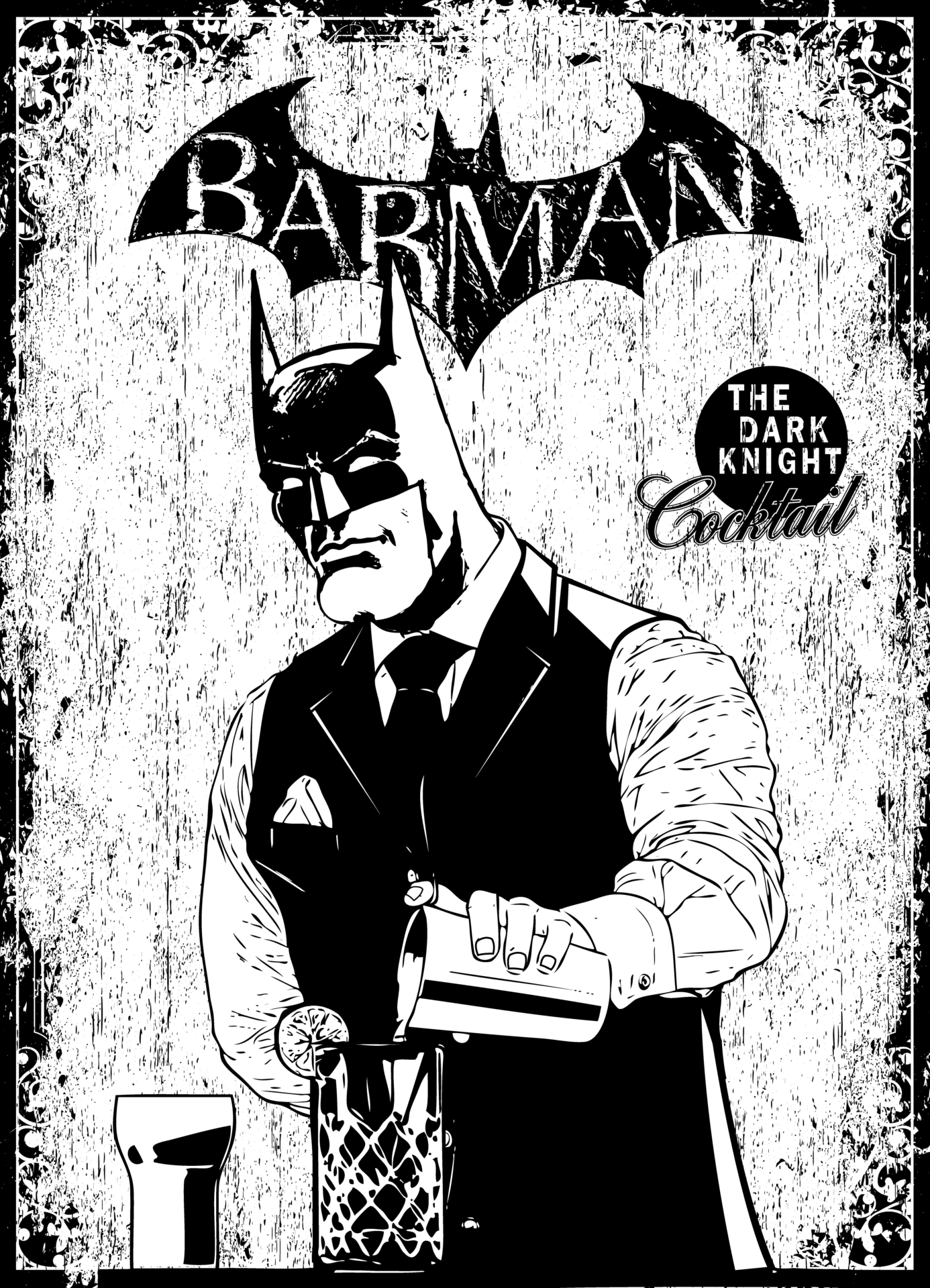 H4 – Barman Batman